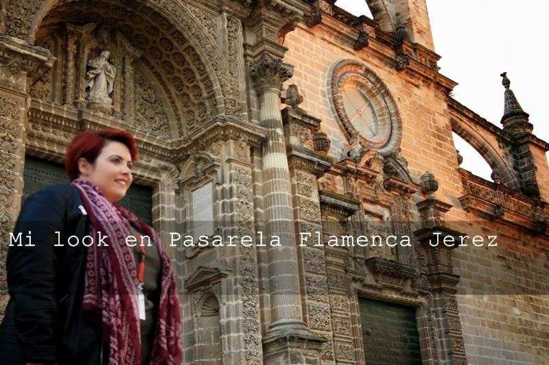 Mi look en Pasarela Flamenca Jerez 2015