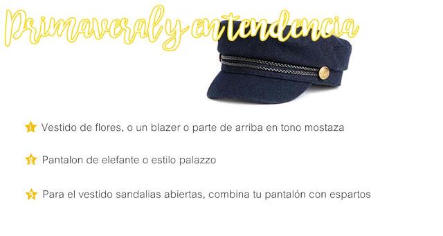 Como combinar tu gorra estilo marinero