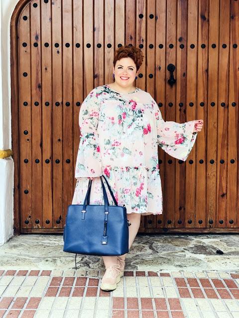 Outfit – Vestido print floral HM