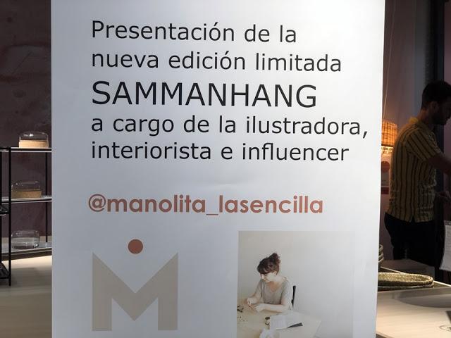 Presentación SAMMANHANG Ikea Sevilla y colección Naif de Manolita la sencilla