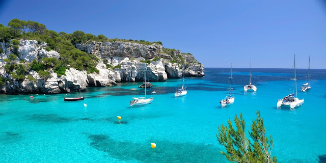 Buscando alojamiento en Menorca